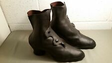vintage womens victorian style rubber boots rain shoes