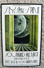 '69 Spirit Sly & The Family Stone Winterland Fillmore Calendar Handbill Bg 208