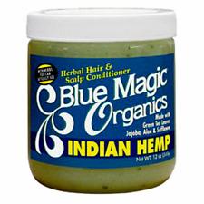 BLUE MAGIC ORGANICS INDIAN HEMP HERBAL HAIR & SCALP CONDITIONER 340 G