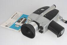 Bauer c2m SUPER SUPER - 8 cinepresa con 1,8/8-40mm Variogon Schneider-Kreuznach