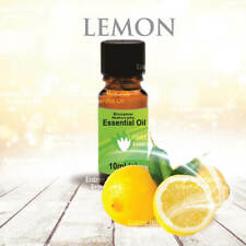Lemon Essential Oil 10ml - 100% Pure - For Aromatherapy & Home Fragrance