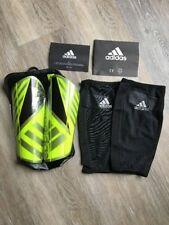 Adidas Ghost Pro Shin Guards Soccer/futbol Sz Large Neon,gray,red,black