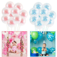 10/15pcs It's a Boy and It's a Girl Latex Balloons Baby Shower Party Decoration