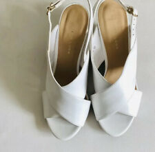 NEW LOOK WHITE SANDALS SIZE 6