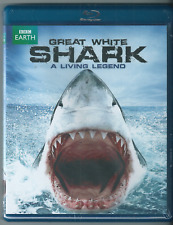 Great White Shark: A Living Legend (Blu-ray Disc, 2013, BBC Earth) New.