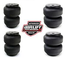 (4) AIR LIFT DOMINATOR D2500 AIR RIDE SUSPENSION BAGS