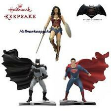 2016 HALLMARK ORNAMENTS ALL 3 WONDERWOMEN BATMAN V SUPERMAN DAWN OF JUSTICE SET
