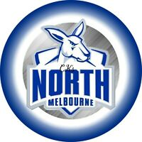 AFL North Melbourne Football Club 7 INCH EDIBLE IMAGE CAKE & CUPCAKE TOPPERS