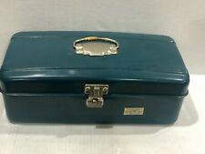 Vintage Union Steel Chest Corp Model 2313, Metal Fishing Tackle Box, Usa