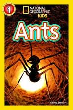 Ants (National Geographic Readers) by Stewart, Melissa | Paperback Book | 978142