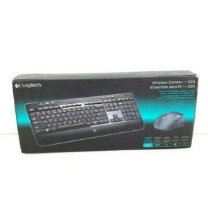 Logitech MK620 Wireless Keyboard And Mouse Combo Open Box