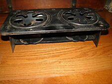 VINTAGE STERNO DOUBLE BURNER STOVE NO.46 MADE IN USA