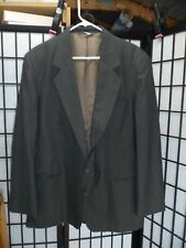 Haggar Gallery Gray Pinstriped Suit Jacket Size 46...........................S23