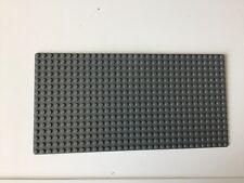 LEGO Grundplatte 16 X 32 Noppen Neudunkelgrau