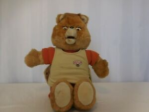 Teddy Ruxpin 1985 Talking Animated Bear In Original Suit Vintage - Not tested