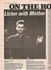 DEPECHE MODE Brighton 1982 concert review UK ARTICLE / clipping