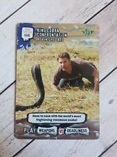 King Cobra Confrontation #109/161 Deadly 60 Wild 2008 Rare Trade Card