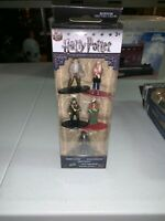"""NEW"" Nano Metalfigs Harry Potter 5 Pack Die Cast Figures Jada Toys Exclusive"