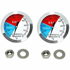 """Grill Thermometers DozyAnt 2"""" 550F(2 Pack) Bbq Barbecue Charcoal Pit Wood Smoker"""