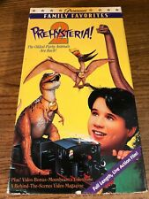 Prehysteria! 2 Used VCR VHS Video Tape Movie  Kevin R. Connors Sci-Fi