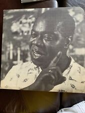Jazz Great Louis Armstrong Cardboard Sign