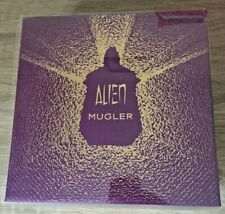 ALIEN GIFT SET BOX BY THIERRY MUGLER PURPLE  (empty)