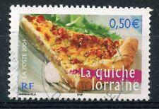 STAMP / TIMBRE FRANCE OBLITERE N° 3652 LA QUICHE LORRAINE