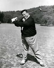 American Actor JACKIE GLEASON 8x10 Glossy Photo 'Golf Swing' Print Honeymooners