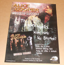 Alice Cooper Brutal Planet Promo Original Poster 18x24