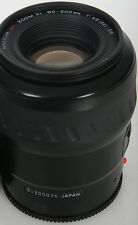 Minolta 80-200mm Af Lente Telefoto Maxxum un Montaje