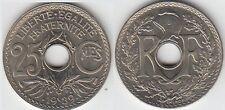 Gertbrolen 25 Centimes maillechort 1939  Superbe brillant de frappe Poids 4,25