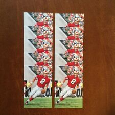 Steve Young 49ers Lot of 10 unsigned Goal Line Art Cards
