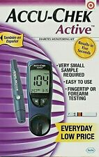 Accu-Chek Active Blood Glucose Meter Sugar System Diabetes Monitoring Kit