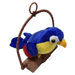Funny Electric Pet Plush Talking Repeat Parrot Animal Toy Gifts for Kids