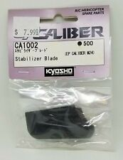 KYOSHO EP Caliber M24 Stabilizer Blade CA1002 500 NEW RC Helicopter Part