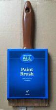 "Lot of 12 - 4""Paint Brushs. 100% Polyester Filament Fibers. Oil & Latex Paints"