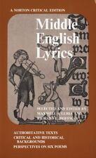 Middle English Lyrics (Norton Critical Edition)