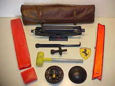 Ferrari 330 Jack Kit_Roll Bag_Hammer_Ratchet_Bulb Kit_Extension Tool_Triangle OE