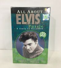 All About Elvis 1000 Piece Jigsaw Puzzle Buffalo Games New Factory Sealed