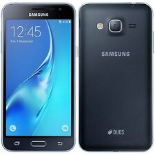 TOUT NOUVEAU Samsung Galaxy J3 6 Double Sim 8GB Smartphone Noir déverrouiller