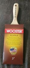 """Lot of 12 Wooster 3"""" Alpha Wall Paint Brush 4234"""