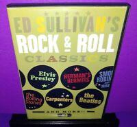 ED Sullivan's Rock & Roll Classics Volume 1 & 3 DVD Beatles,Supremes,Smokey