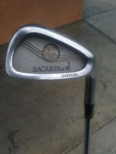Rare, Unique and Extremely Cool RH Oversize 7 Iron Feat BACARDI RUM BAT On Head