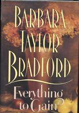 Barbara Taylor Bradford signed Everything to Gain 1st. Ed - 1994