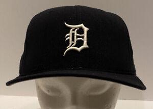 Vtg Detroit Tigers Era 5950 Pro Model Baseball Hat 7 5/8 Fitted USA Wool