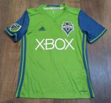 Adidas Seattle Sounders FC #2 Dempsey XBox Green Soccer Jersey Youth Size M