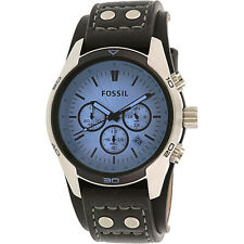 Fossil Men's Cocheiro Azul CH2564 Relógio De Quartzo De Couro Da Moda