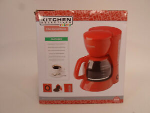 Kitchen selectives Colors 5 Cup Coffee Maker Red Coffee Pot New