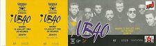 RARE / TICKET DE CONCERT LIVE - UB40 A PARIS FRANCE 1994 / COMME NEUF - LIKE NEW