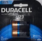 Duracell DL123 Ultra Lithium HP 123 Batteries 2 Pack CR17345 New NIB EL123 3V
